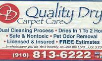 Quality Dry Carpet Care: Carpet Cleaning