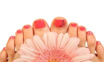 Holly Nails: Pedicure