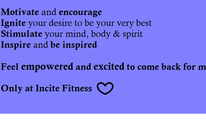 Incite Fitness: Boot Camp
