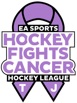 VGHL Club League Custom Logos - Hockey Fights Cancer