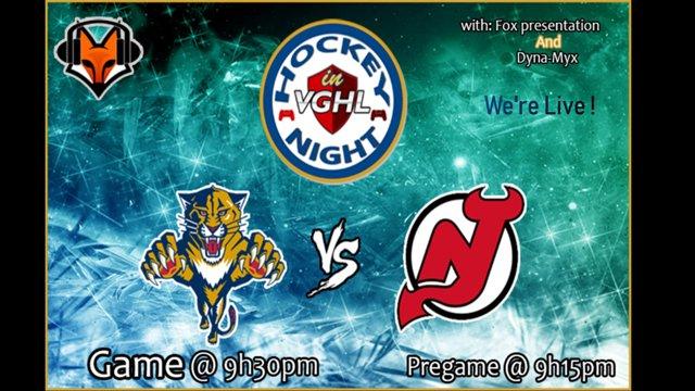 Highlight: Hockey night in VGHLPanthers vs Devils