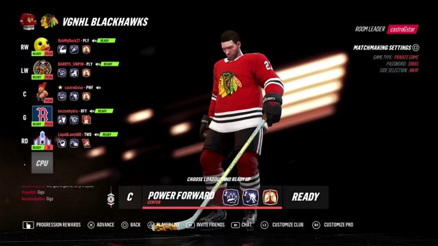 VGNHL S17: Chicago vs BOS