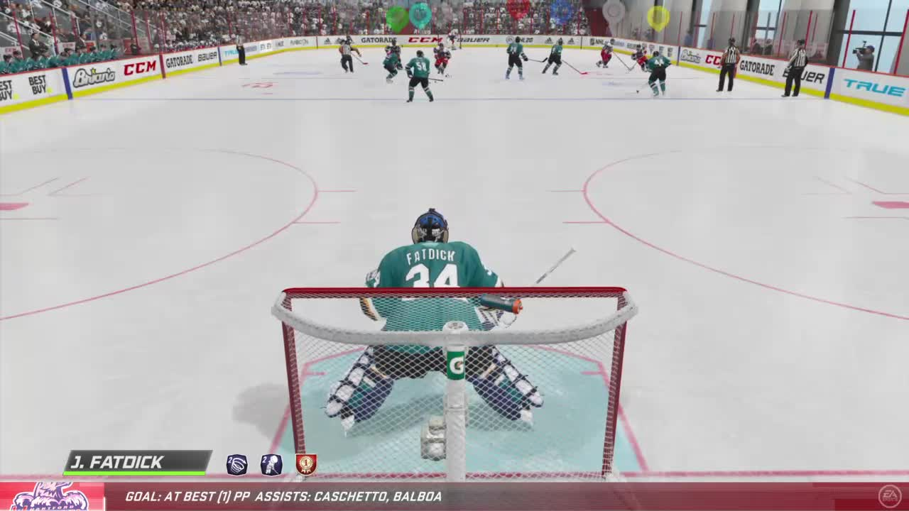 fatdick's saves lead to a goal