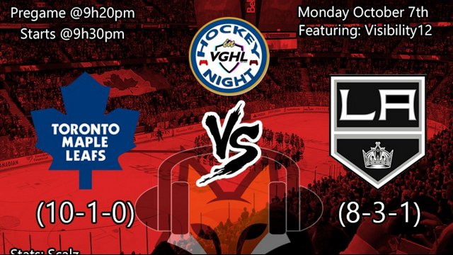 Hockey night in VGHL TOR VS LA