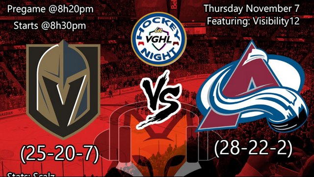 Highlight: Hockey night in VGHL:  Vegas Vs Colorado
