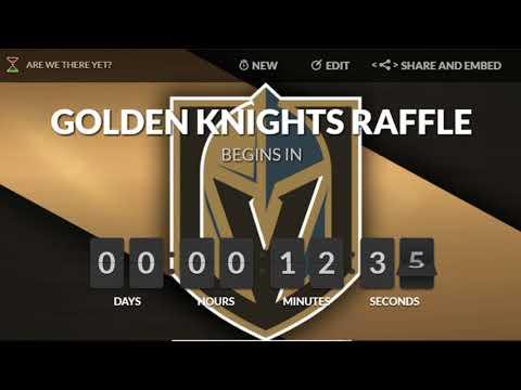 Golden Knights Raffle