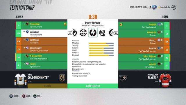 VGNHL Game Night: PHI vs CHI