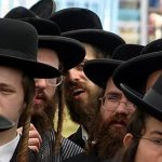 Random picture of Haredi Jews in Israel