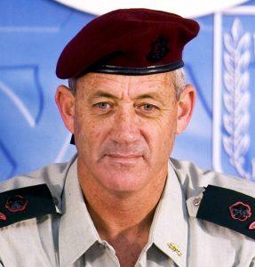 IDF Chief of Staff Benny Gantz