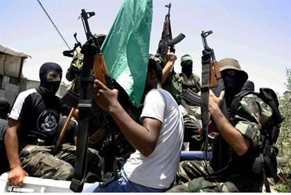 Hamas Terrorists - Flash 90