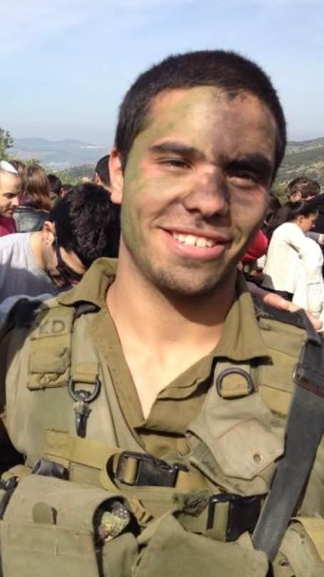 "First Sgt. Yuval Dagan, 22, hy""d Courtesy of the Dagan family"