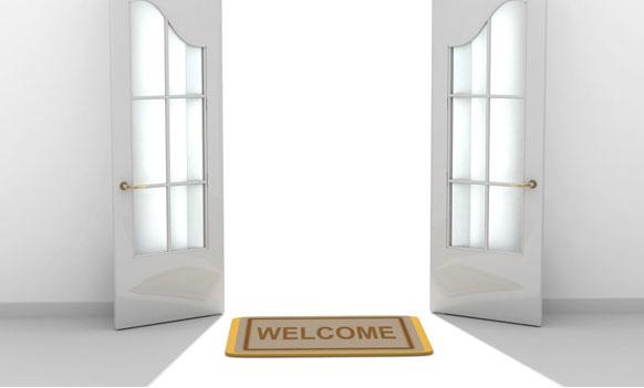 doors-welcome