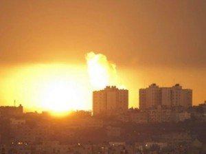 Gaza-Strip-explosion-AP