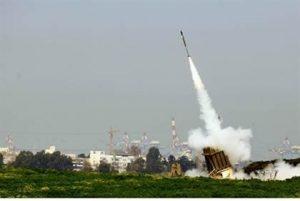 Iron Dome employed against Gaza rocket