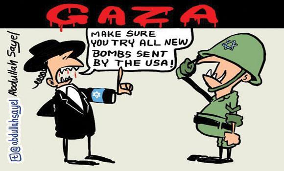 Cartoon-Abdullah-Sayel-11-July-2014