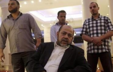 Deputy chairman of Hamas' political bureau Moussa Abu Marzouk during an interview in Cairo, August 9, 2014. Photo: REUTERS