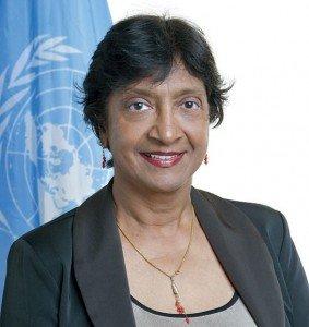 UN Human Rights Commissioner Navi Pillay (Photo: UN)