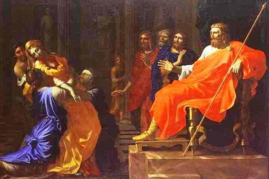 Does Esther Faint?      Artist Nicolas Poussin1594 – 1665)