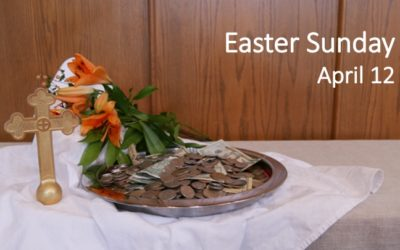 Worship for Easter April 12