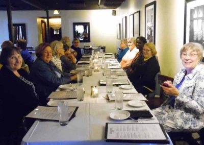 KKK)_South End of Table A -Supper at _Bourbons Bistro_10-14-2019_SAM_8640