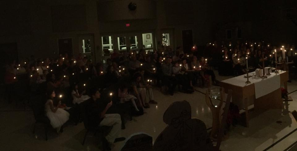 Candlelight Christmas Eve worship