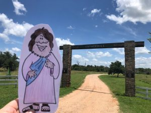 Flat Jesus at Lutherhill