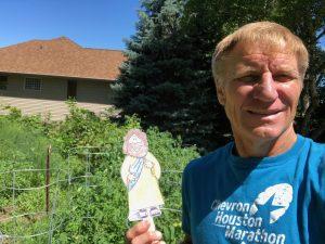 Flat Jesus in Wisconsin
