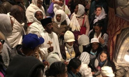 A Message from Bishop Sutton from the Holy Land