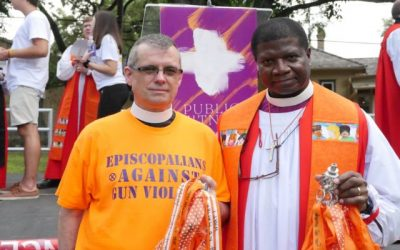 Episcopal Diocese of Maryland pays tribute to the year's 307 homicide victims