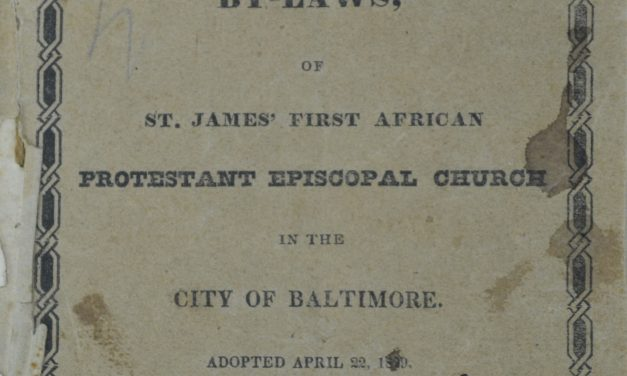 From the Archives: St. James' Church, Baltimore