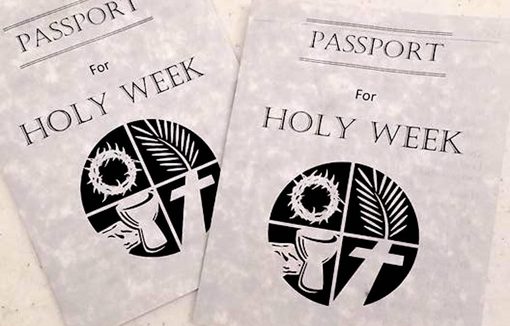 image about Printable Passports called Participating religion - Holy 7 days Pports - Maryland Episcopalian