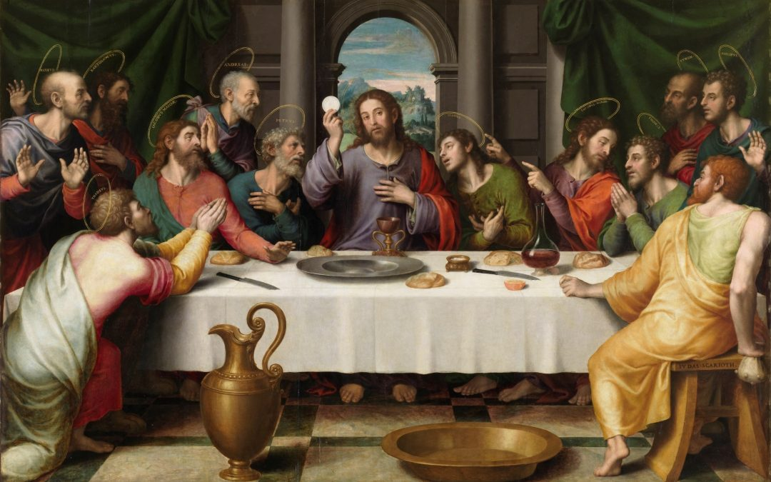 Bishop Sutton visits Holy Trinity, Baltimore on Maundy Thursday
