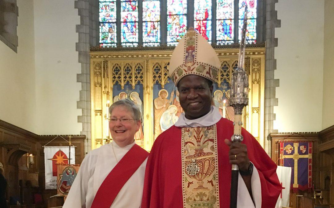 Susan Wert ordained a deacon in The Episcopal Church