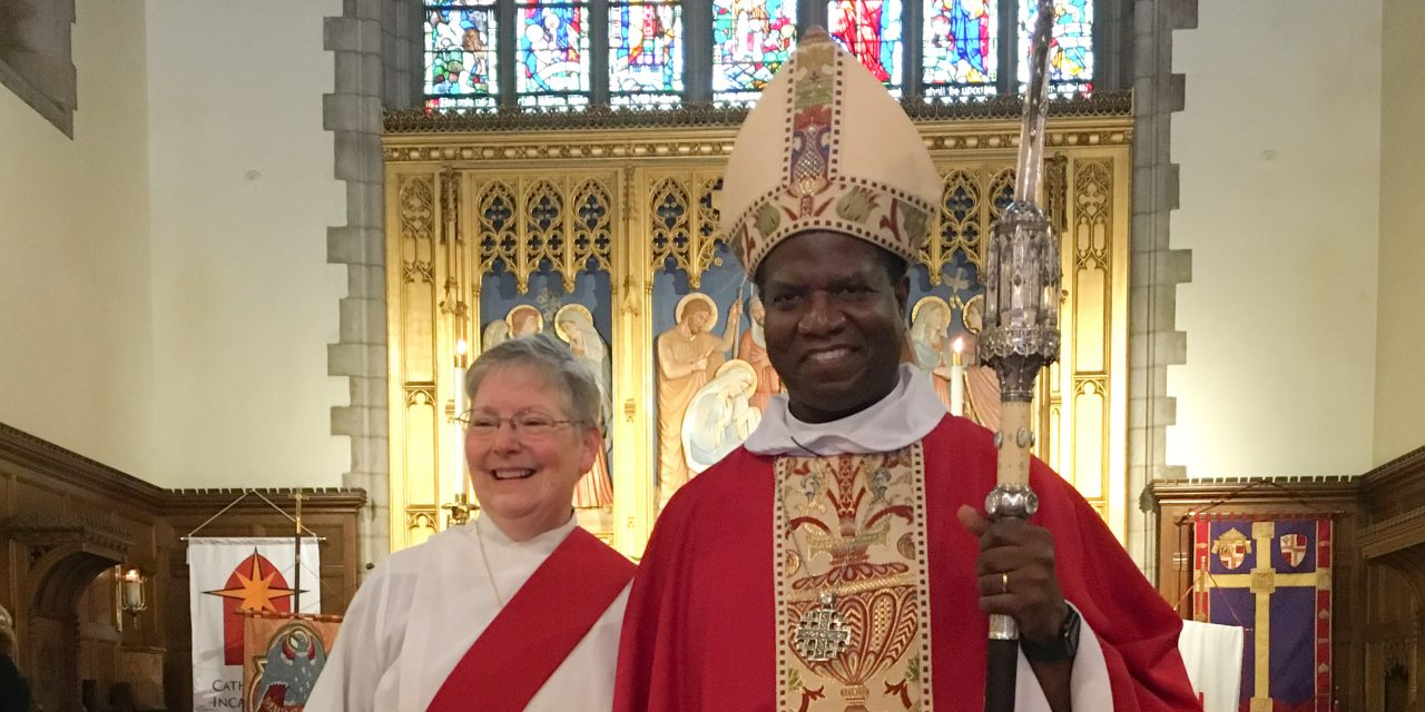 Susan Wert ordained a deacon in The Episcopal Church