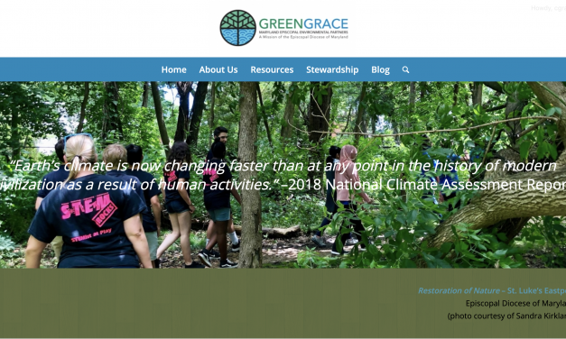 Our Church's commitment to the environment – the GREENGRACE Roadshow
