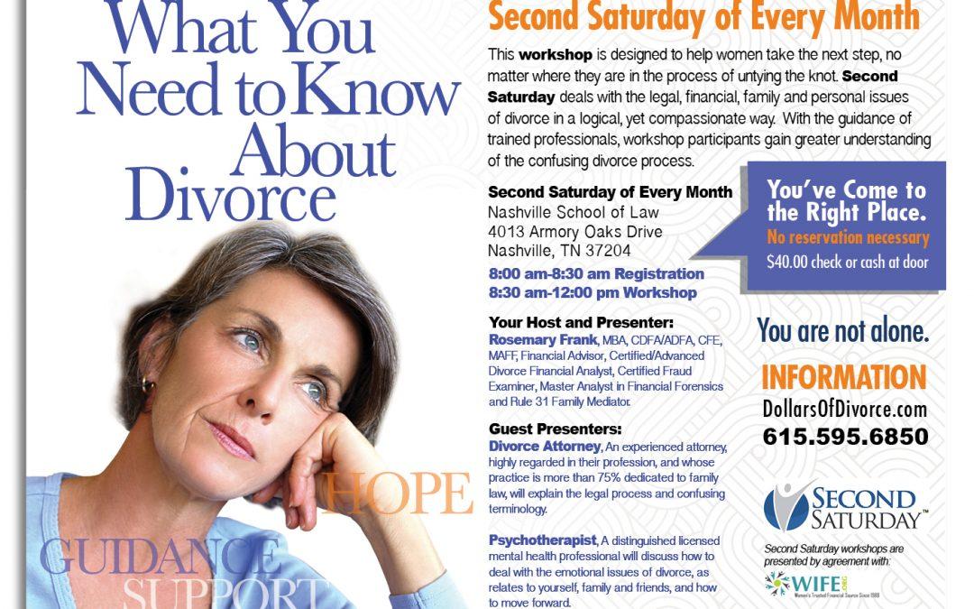 Divorce Workshop for Women August 10