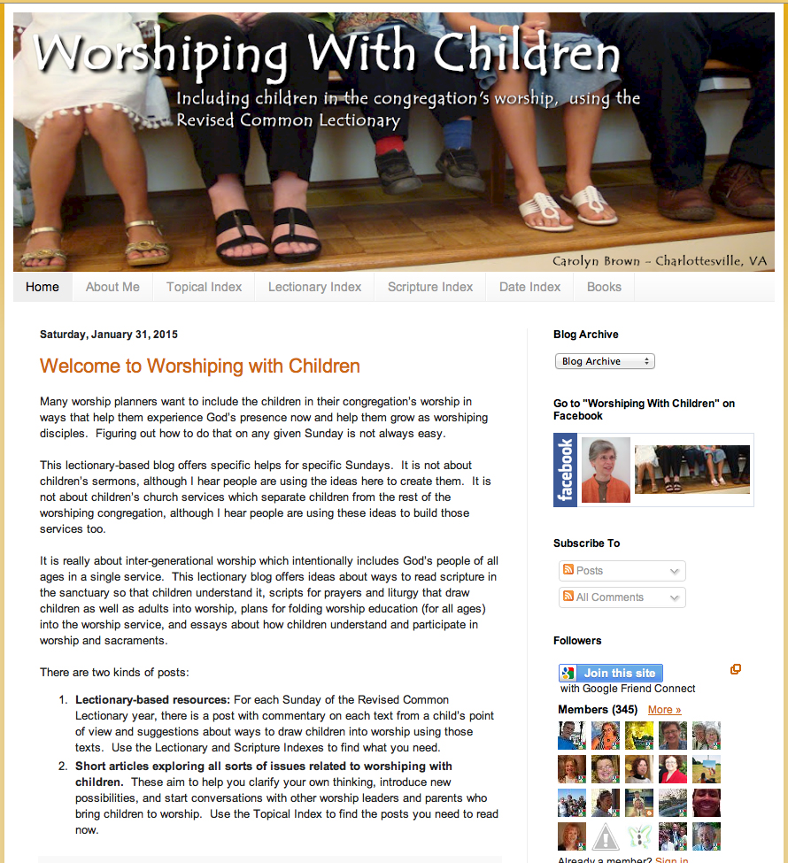 Worshiping with Children