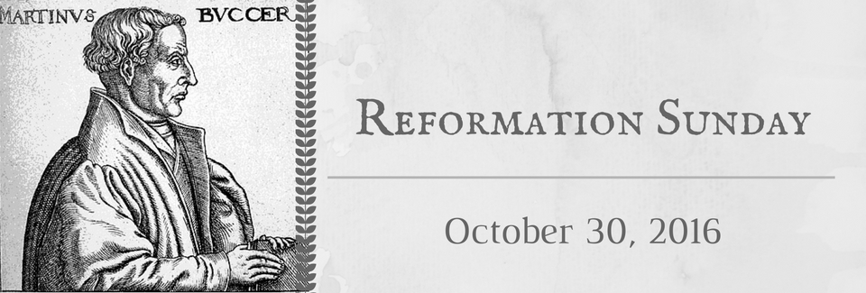 Looking Ahead to Reformation Sunday: The Legacy of Martin Bucer