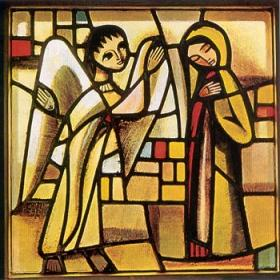 Visual Reflection: The Annunciation to Mary