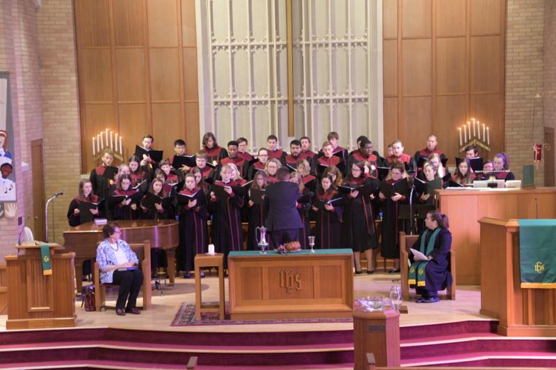 Austin College's Acapella Choir 2018