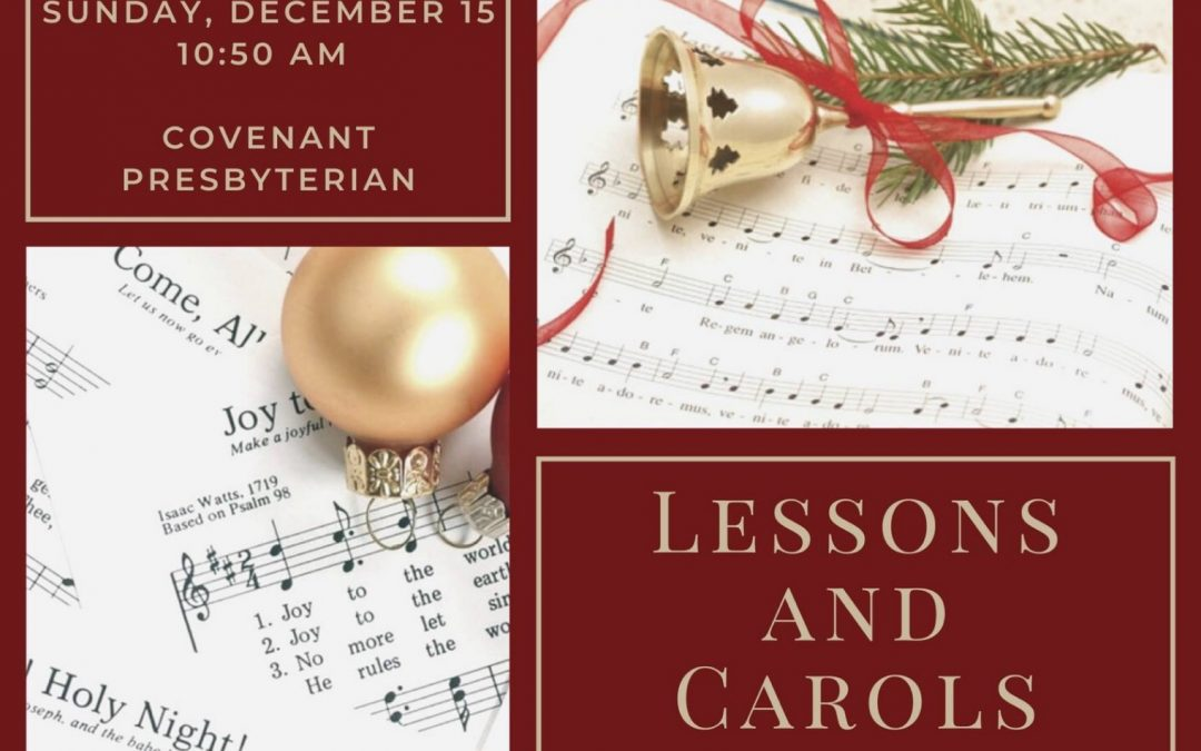 Lessons and Carols Service, December 15