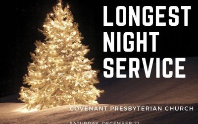 Longest Night Service, December 21, 5 pm