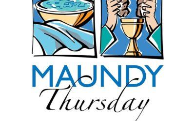 Maundy Thursday Service – Live Stream