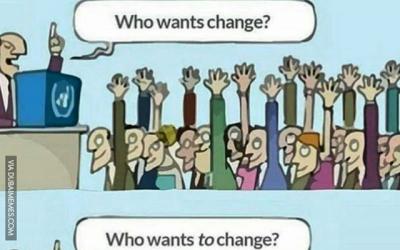 Who Wants Change?