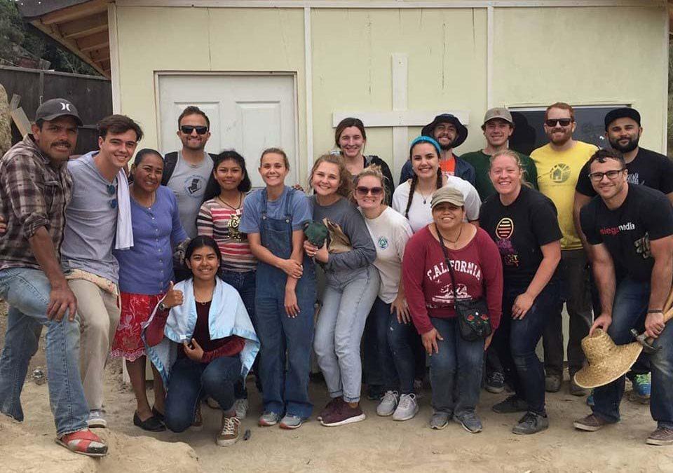 Spring Break Mexico Service Teams to Build Homes