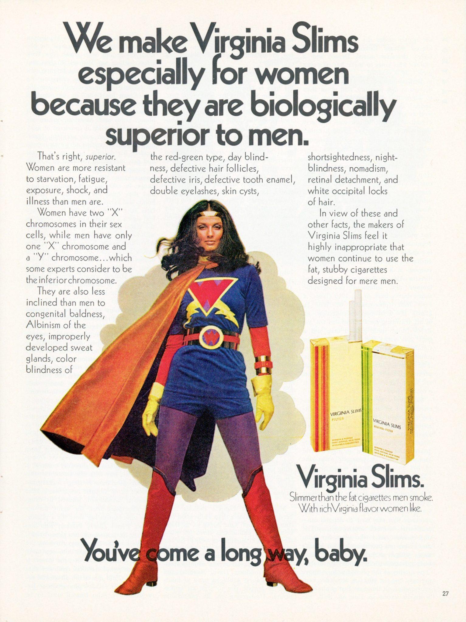 VA Slims ad