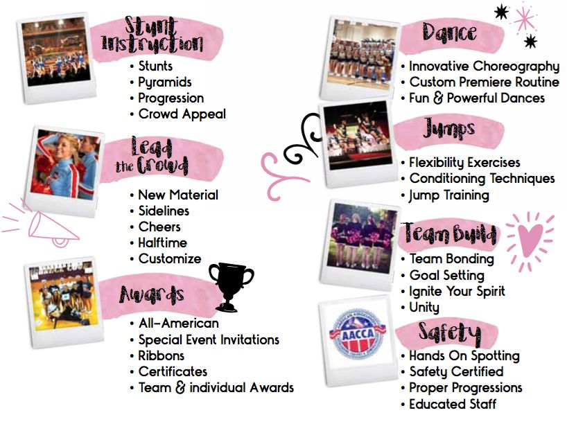 Premiere Cheer Camps - Why Premiere