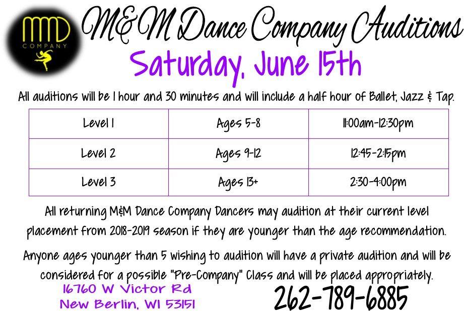 M&M Gymnastics & Dance - Dance Company