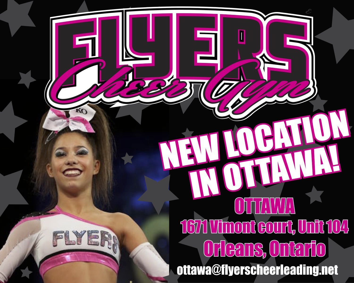 flyers cheerleading flyers all starz ottawa