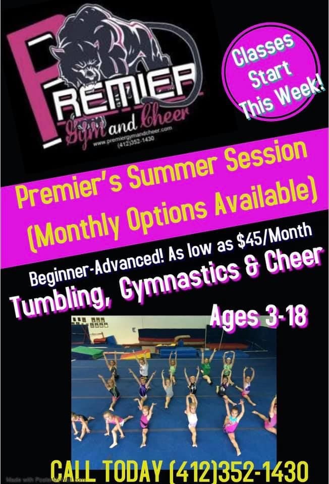 PREMIER GYM AND CHEER